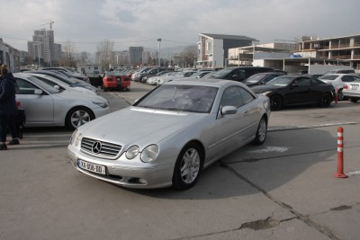 MERCEDES BENZ CL 500